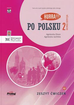 2020 Hurra!!! Po Polsku 2 student WORKBOOK + audio CD (Zeszyt Cwiczen) - 9788360229552 - front cover
