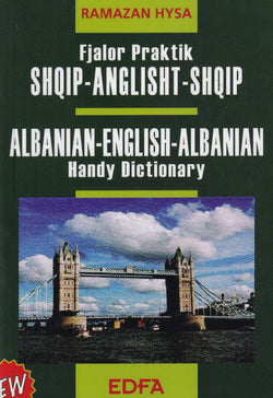 Albanian-English & English-Albanian School Dictionary - Hysa - 9789992364420 - front cover