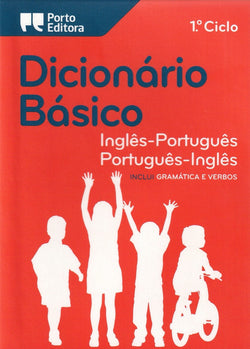 School English-Portuguese & Portuguese-English Dictionary 9789720016416 - front cover