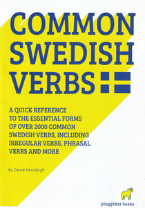 2000 Common Swedish Verbs - 9789197422000 - front cover