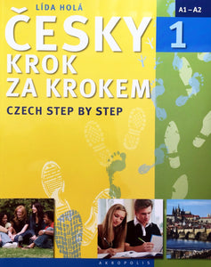 Czech Step by Step 1 (textbook, appendix and 2 CDs) 9788074701290 - front cover
