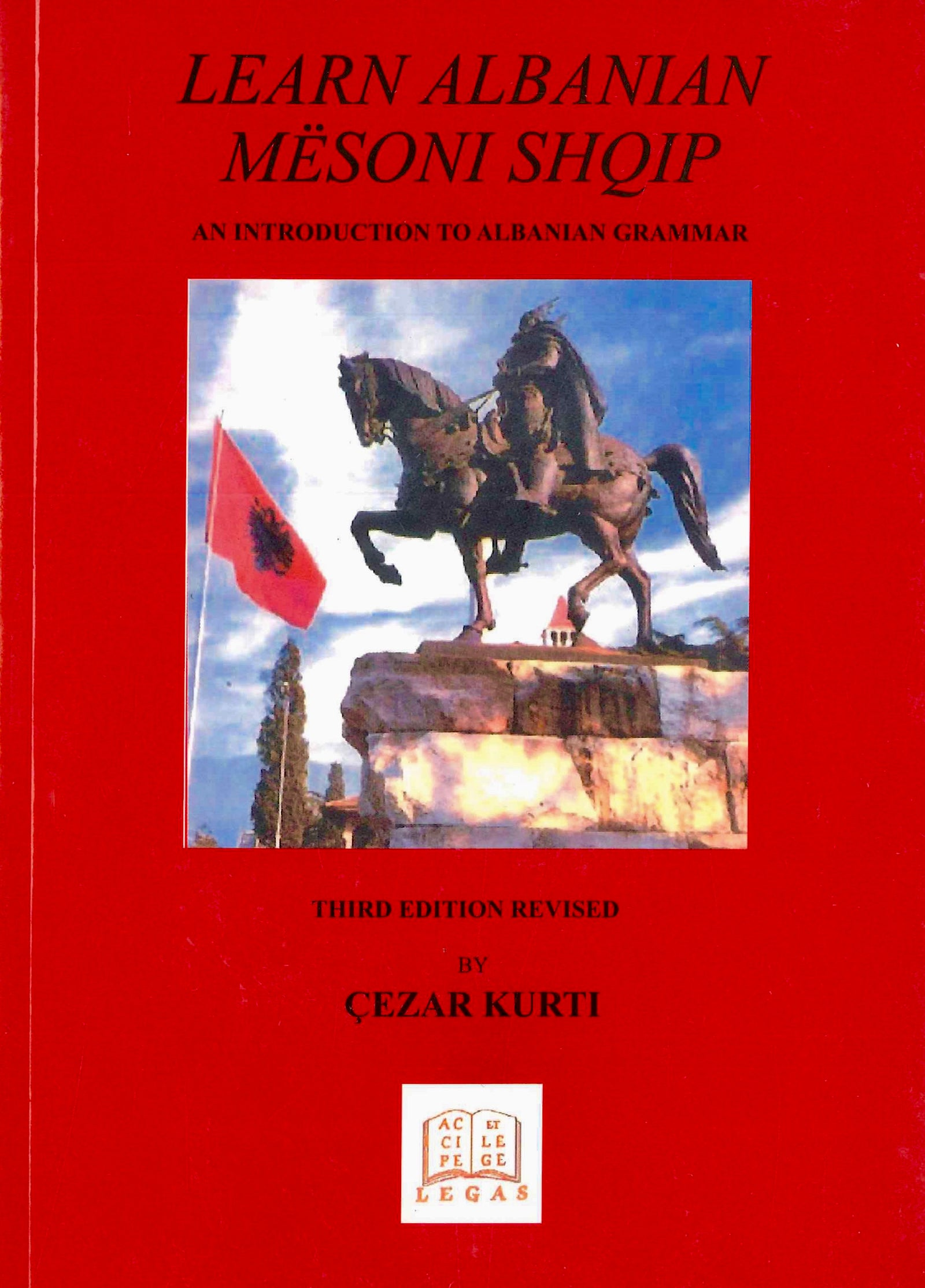 Learn Albanian - Introduction to Albanian Grammar - book & audio CD