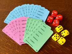 Ruslan pronoun dice game for practicing Russian verbs - 9781912397051