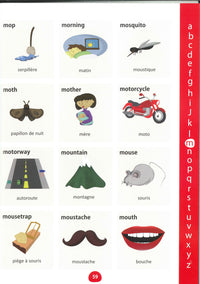 My First Picture Dictionary: English-French 9781908357793 - sample page