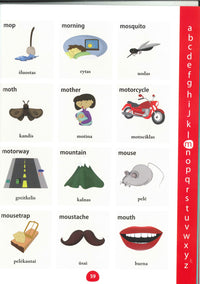 My First Picture Dictionary: English-Lithuanian 9781908357830 - sample page