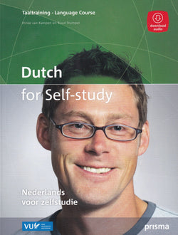 Dutch for Self-Study Course. Book with audio download -9789000351312 - front cover