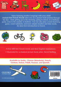 First French Words 9780199110025 - back cover