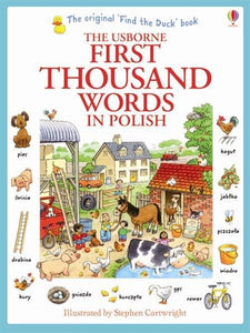 Usborne First Thousand Words in Polish 9781409566137