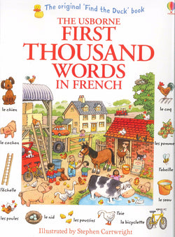 Usborne First Thousand Words in French 9781409566113