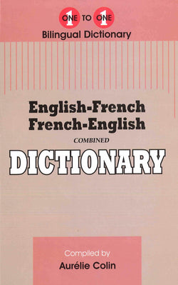 Exam Suitable : English-French & French-English One-to-One Dictionary