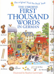 Usborne First Thousand Words in German 9781409583035