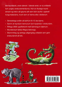 English-Icelandic & Icelandic-English Illustrated Picture Dictionary for Children