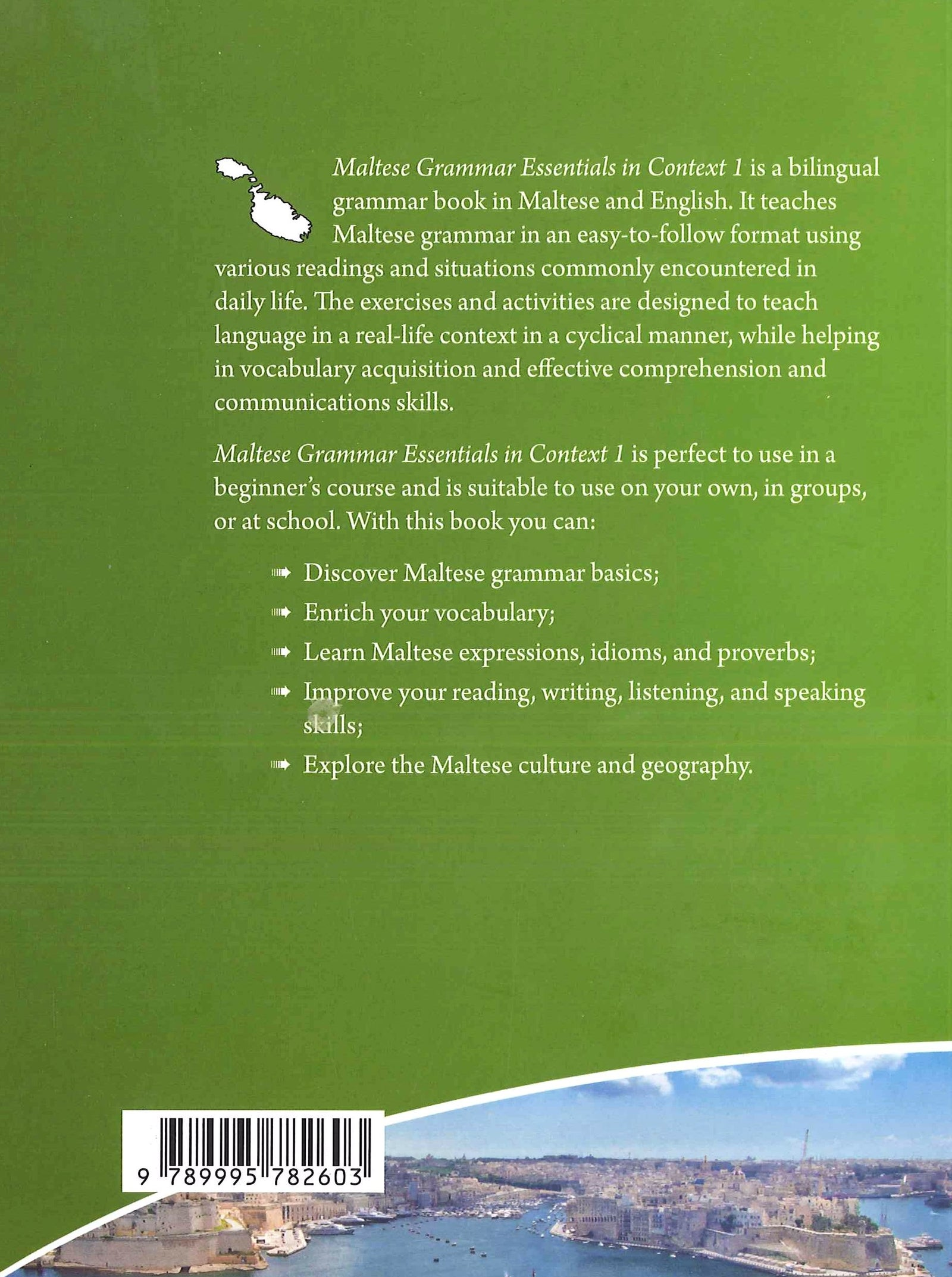 Maltese for Foreigners Course - Learn Maltese Grammar - Essentials 1