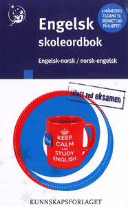 School English-Norwegian & Norwegian-English Dictionary 9788257322229