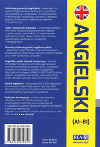 Polish-English & English-Polish School Dictionary for Polish speakers 9788379932856 - back cover