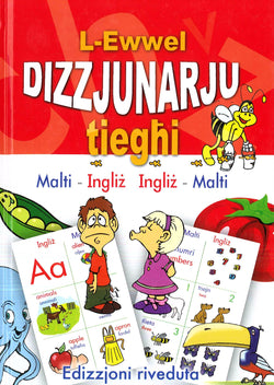 Maltese Children's Picture Dictionary: Maltese-English & English-Maltese - 9789990972429