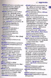Collins Gem Portuguese Dictionary: Portuguese-English & English-Portuguese - 9780008200916 - sample page