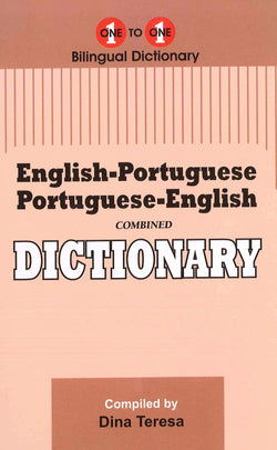 Exam Suitable : English-Portuguese & Portuguese-English One-to-One Dictionary