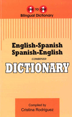 Exam Suitable : English-Spanish & Spanish-English One-to-One Dictionary
