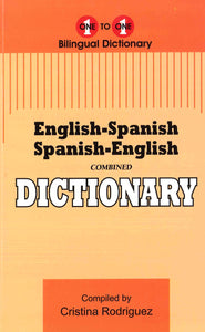 Exam Suitable : English-Spanish & Spanish-English One-to-One Dictionary 9781908357458