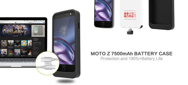 ZeroLemon All Set to Release Moto Z 7500mAh Extended Battery Case