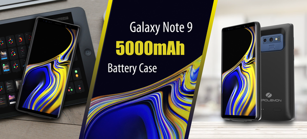 Zero Lemon Launches New Galaxy Note 9 Battery Case