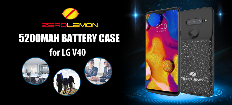 <p><strong>ZeroLemon Launched Innovative Battery Charging Case for LG V40 ThinQ Smartphone</strong></p> <p><strong> </strong></p>