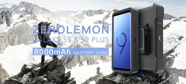 ZeroLemon Launches 8000mAh Power Packed Battery Charger Case for  Samsung Galaxy S9/S9Plus