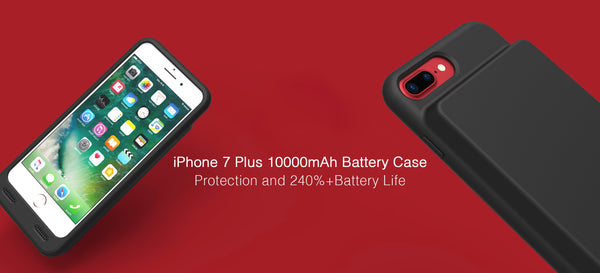 outlet store 13407 5ef59 ZeroLemon launches 10000mAh Extended Battery Case for iPhone 7 Plus ...