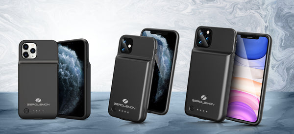 Introducing ZeroLemon New Battery Charging Case for New iPhone 11/11 Pro/11 Pro Max