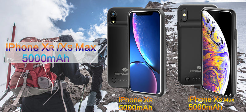 Zerolemon 5000mAh Battery Charging Cases for iPhone Xs Max and XR Beat the Market