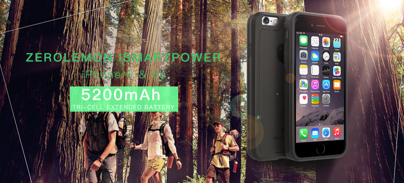 Introducing ZeroLemon iSmartPower: 5200mAh Replacement Battery for iPhone