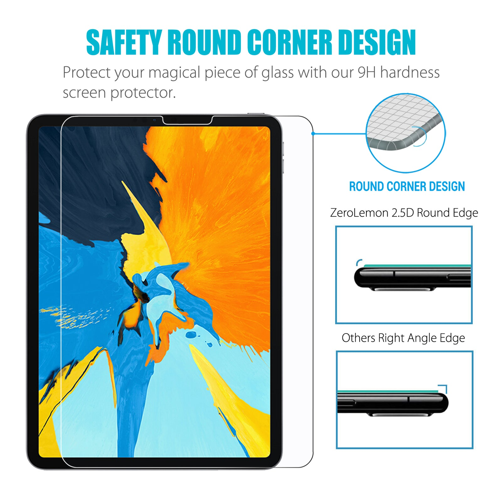 "iPad Pro 11"" Screen Protector - 2 Pack [Shipping to US Only]"