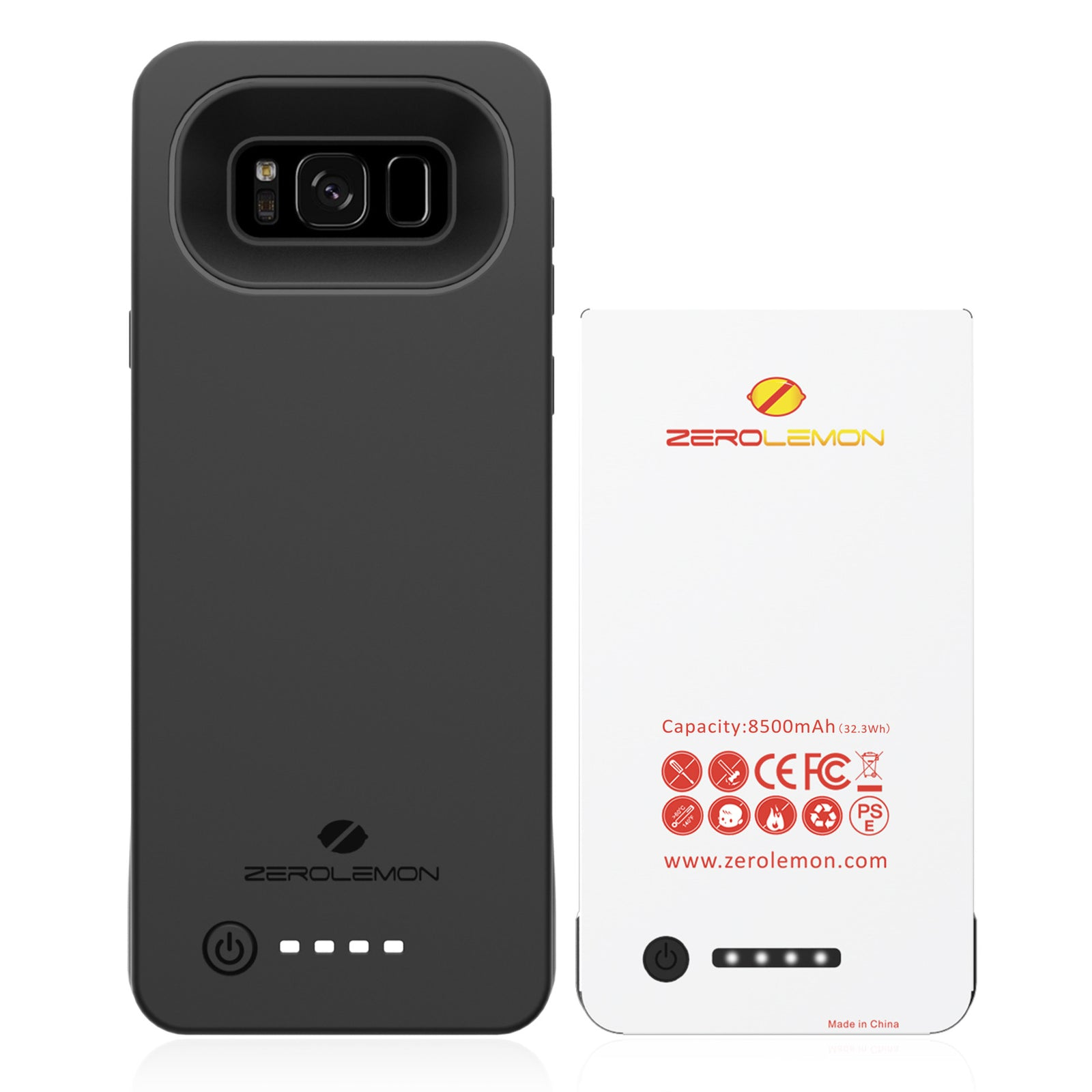 Galaxy S8 Plus Battery Case 8500mAh [Shipping to US Only]