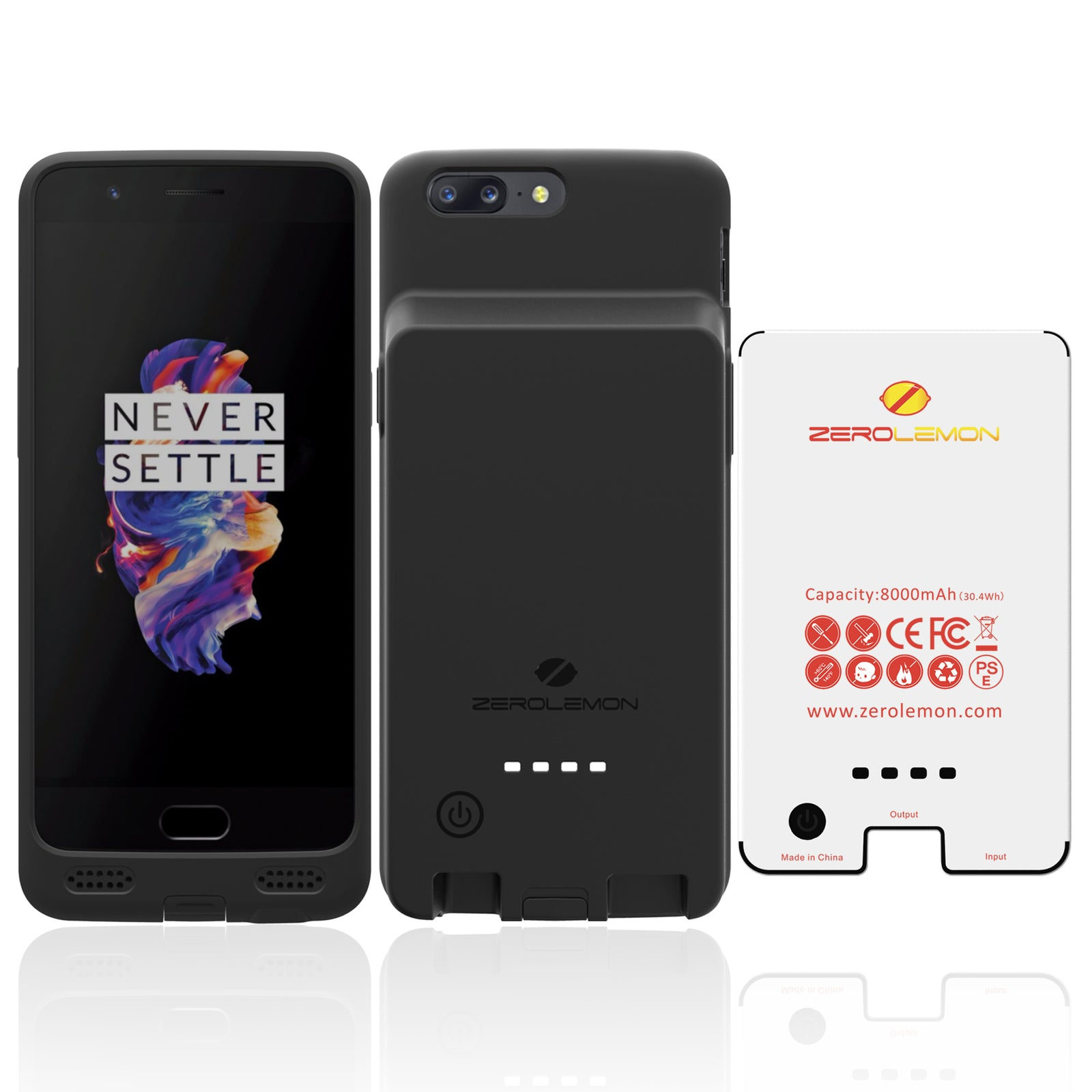 OnePlus 5 Battery Case 8000mAh