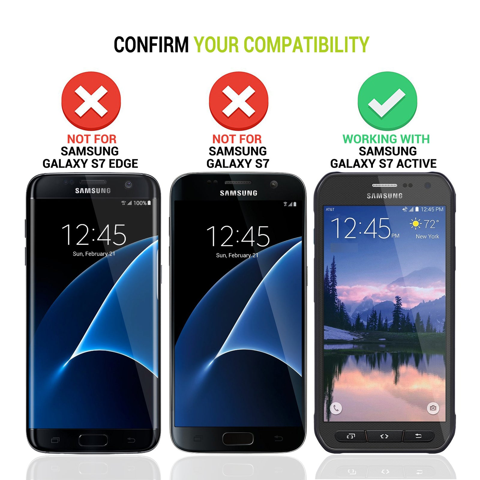 Galaxy S7 Active Battery Case 8500mAh [Shipping to US Only]