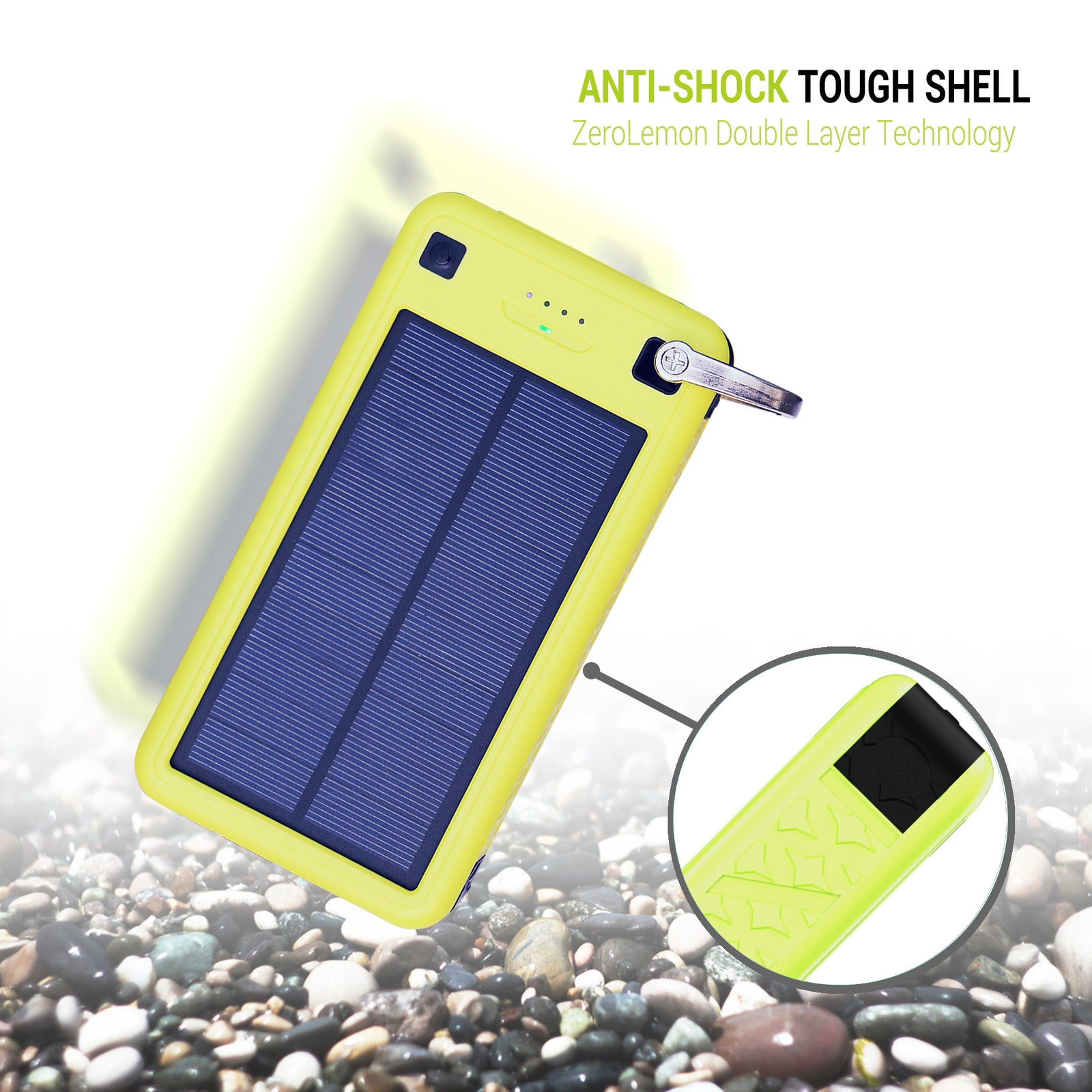 SolarJuice Portable Charger 26800mAh [Shipping to US Only]