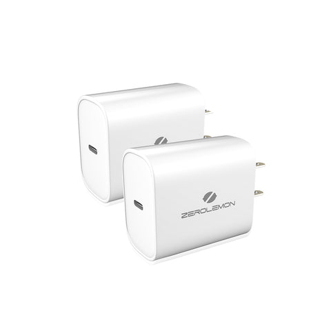 18W USB-C PD Charger White [1 Pack]