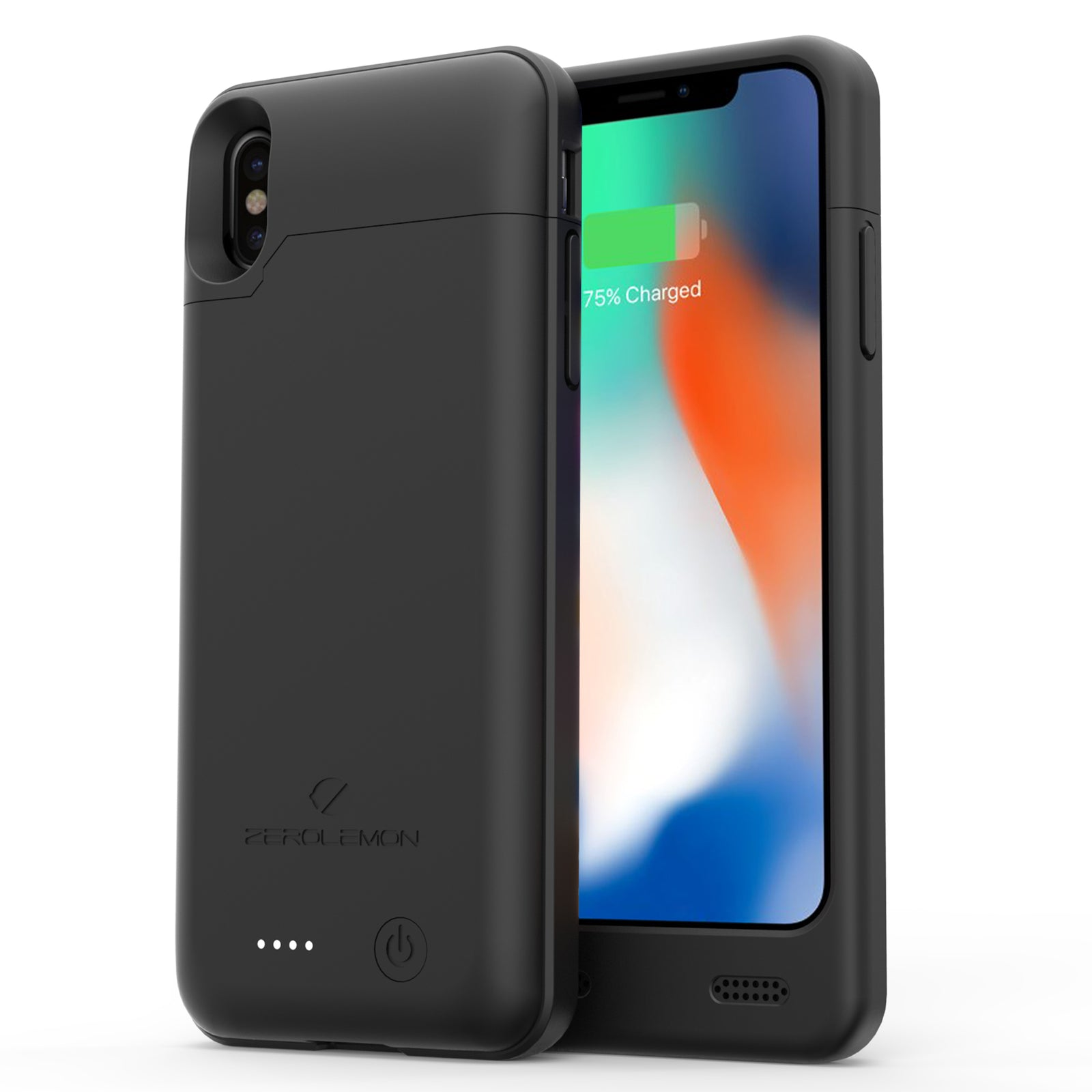 iPhone X 4000mAh Battery Case