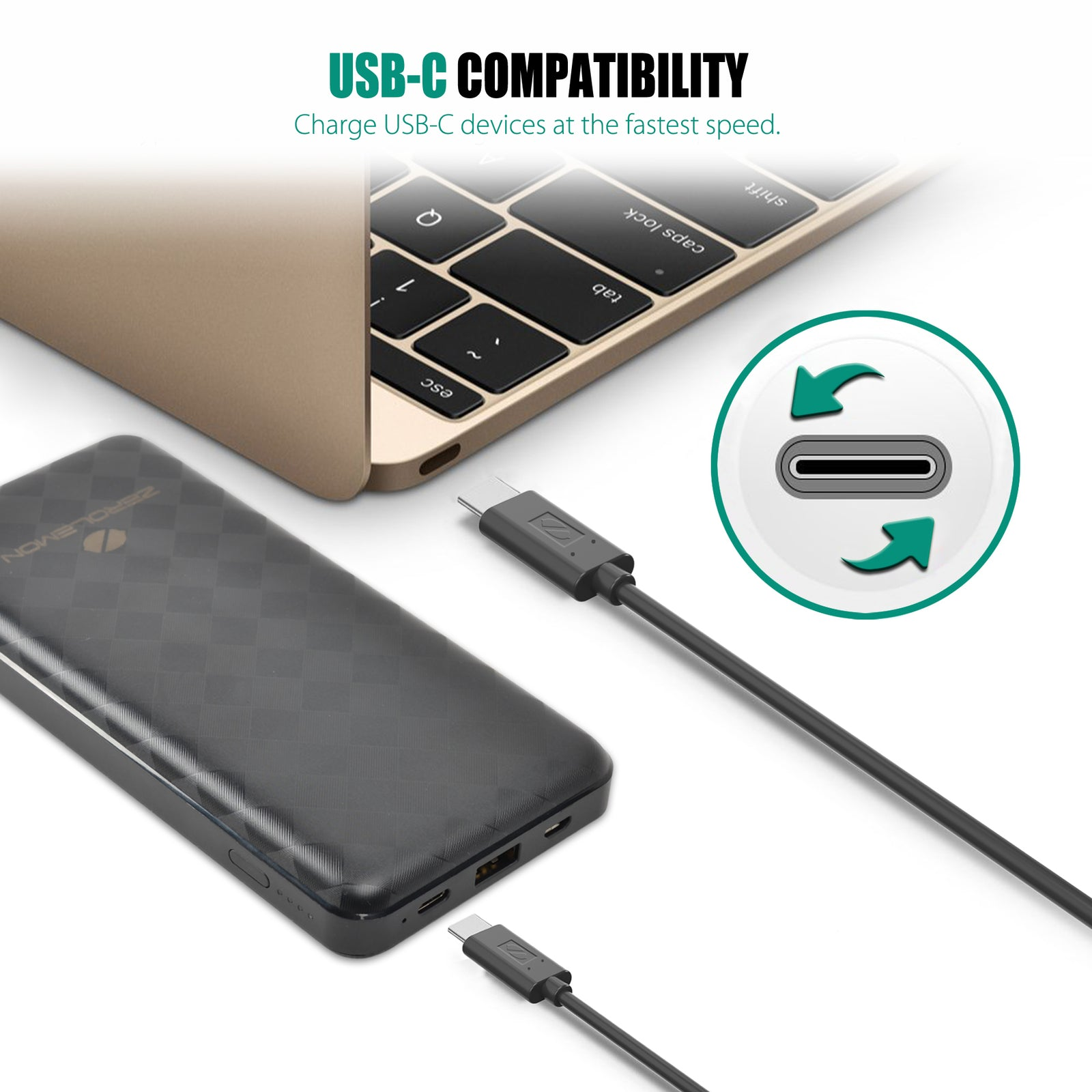 JuiceBox 20100mAh 45W PD USB Type C Portable Charger [Shipping to US Only]