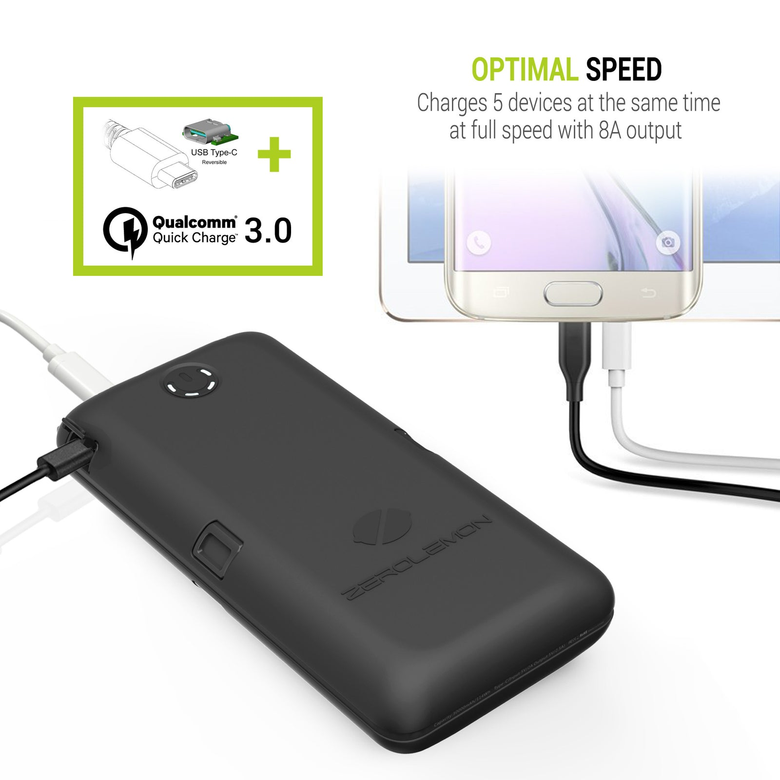 ToughJuice 30000mAh QC 3.0 External Battery Charger [Shipping to US Only]