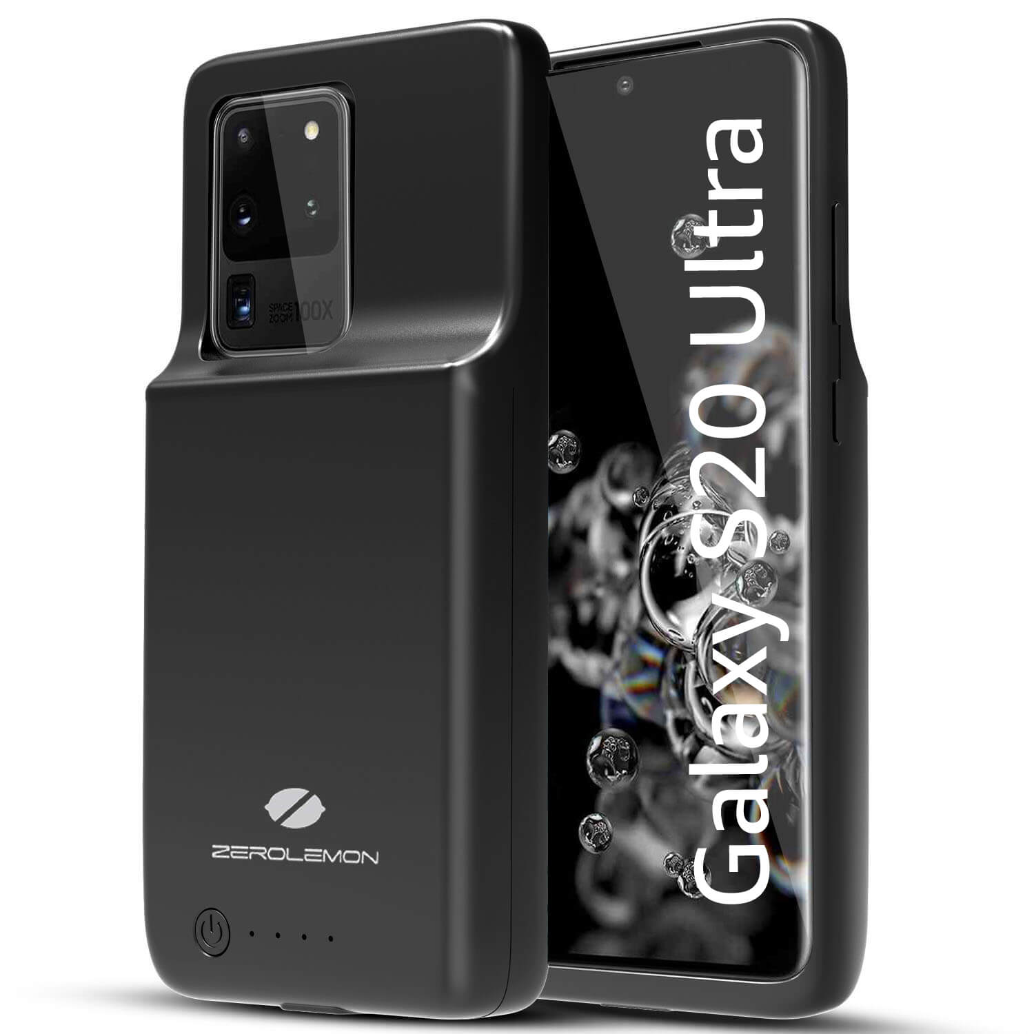 Galaxy S20 Ultra Extended Battery Charging Case