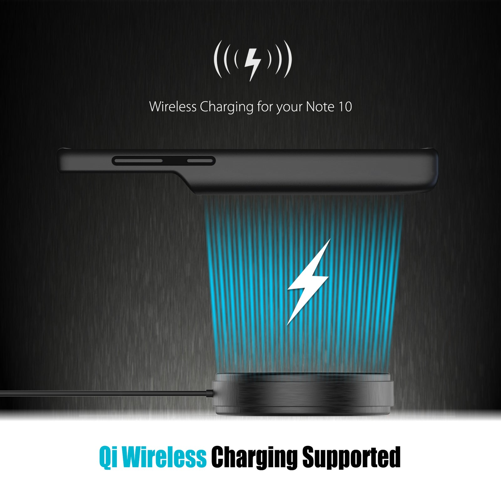 Galaxy Note 10 Wireless Charging Battery Case 5000mAh