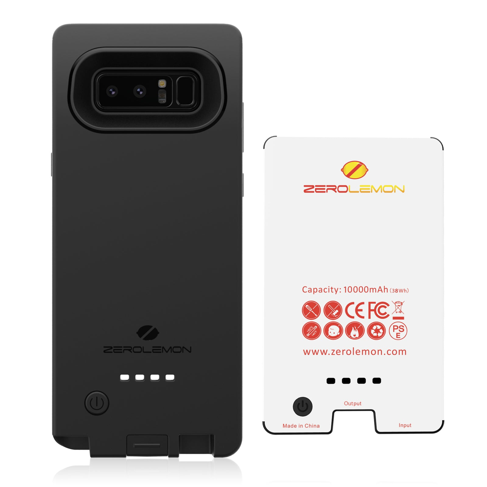 newest 561ed 18aa9 Galaxy Note 8 Battery Case 10000mAh [To AU Only] - ZeroLemon