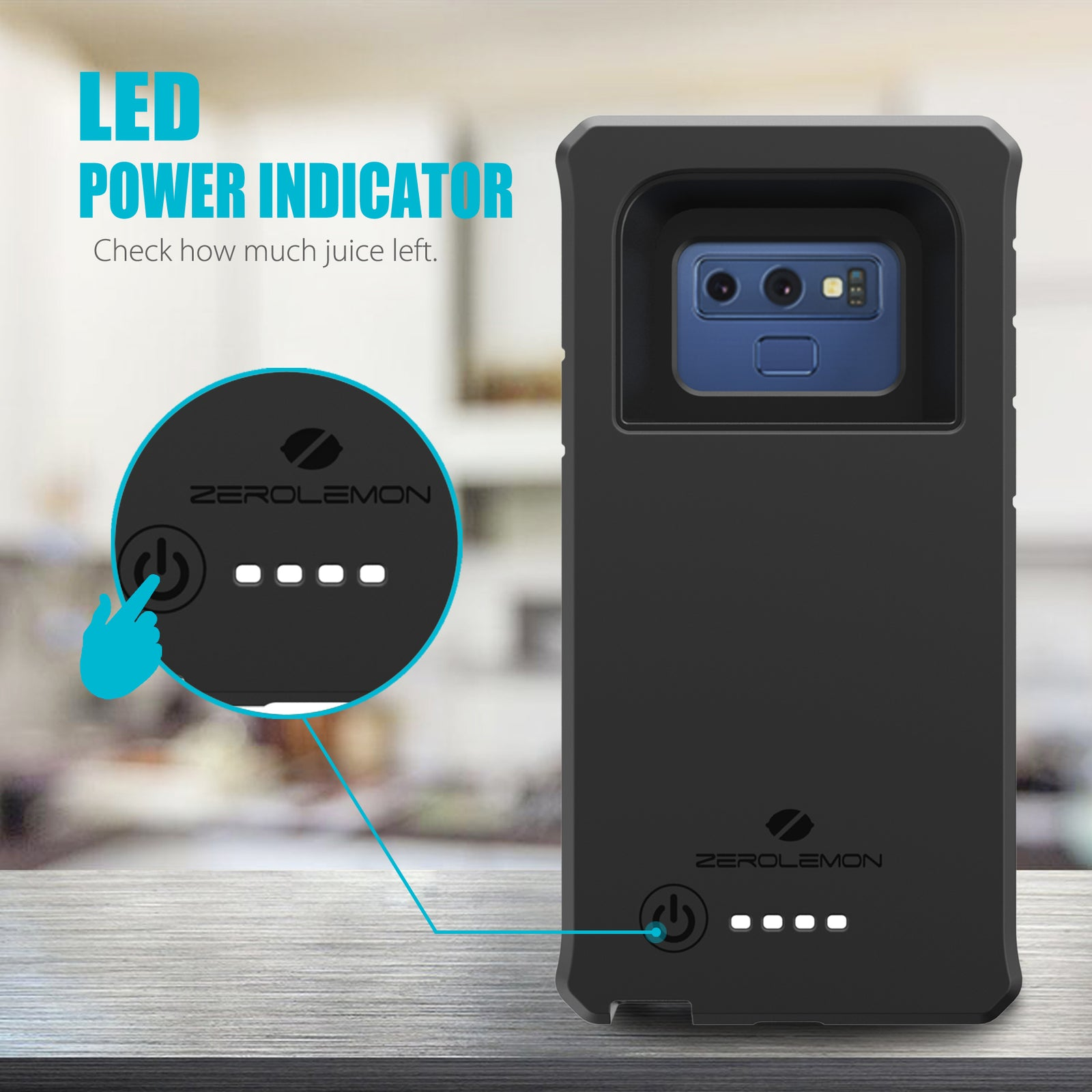 low priced dcfd2 a7556 Galaxy Note 9 ZeroShock Battery Case 10000mAh– ZEROLEMON