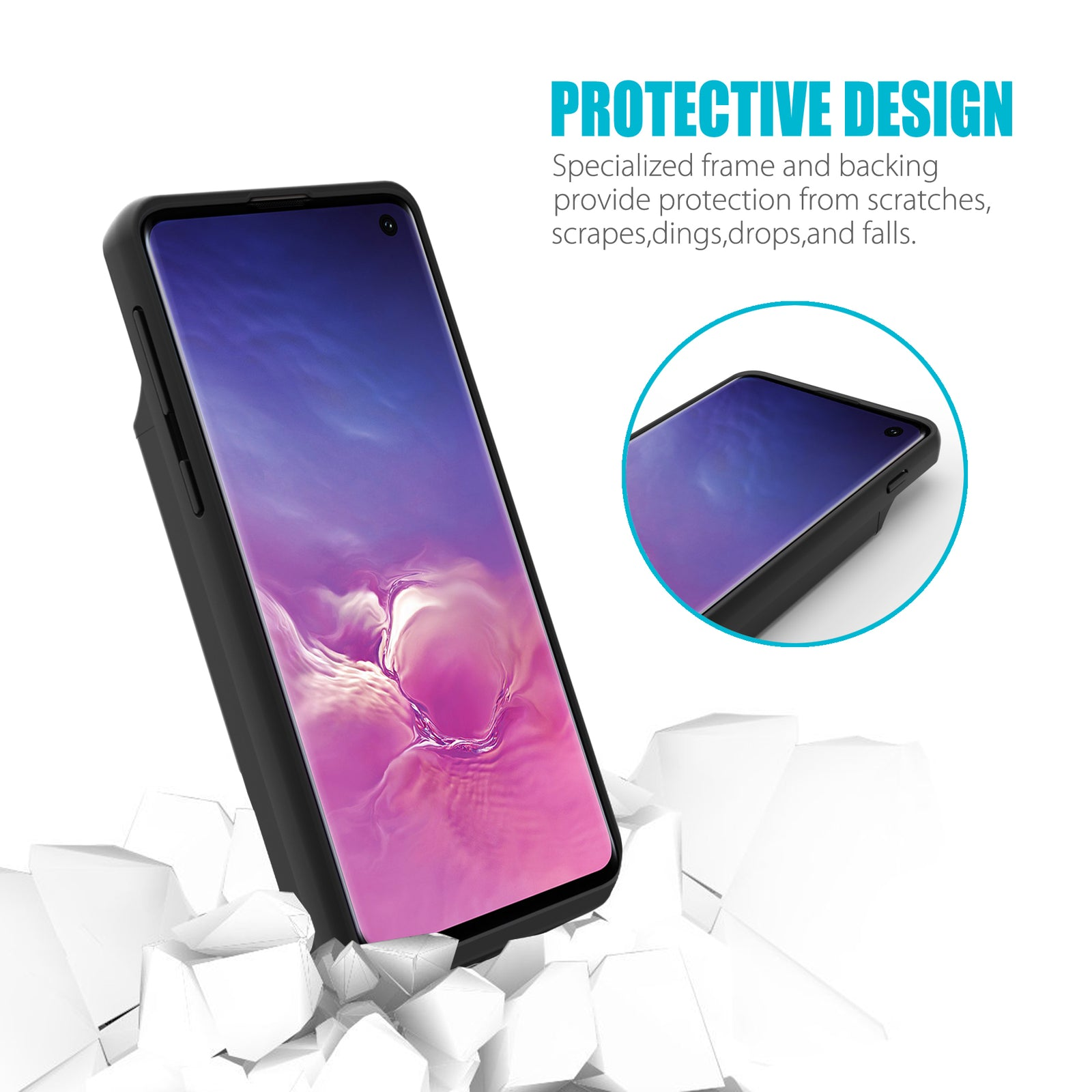 Galaxy S10 Extended Battery Case 5000mAh