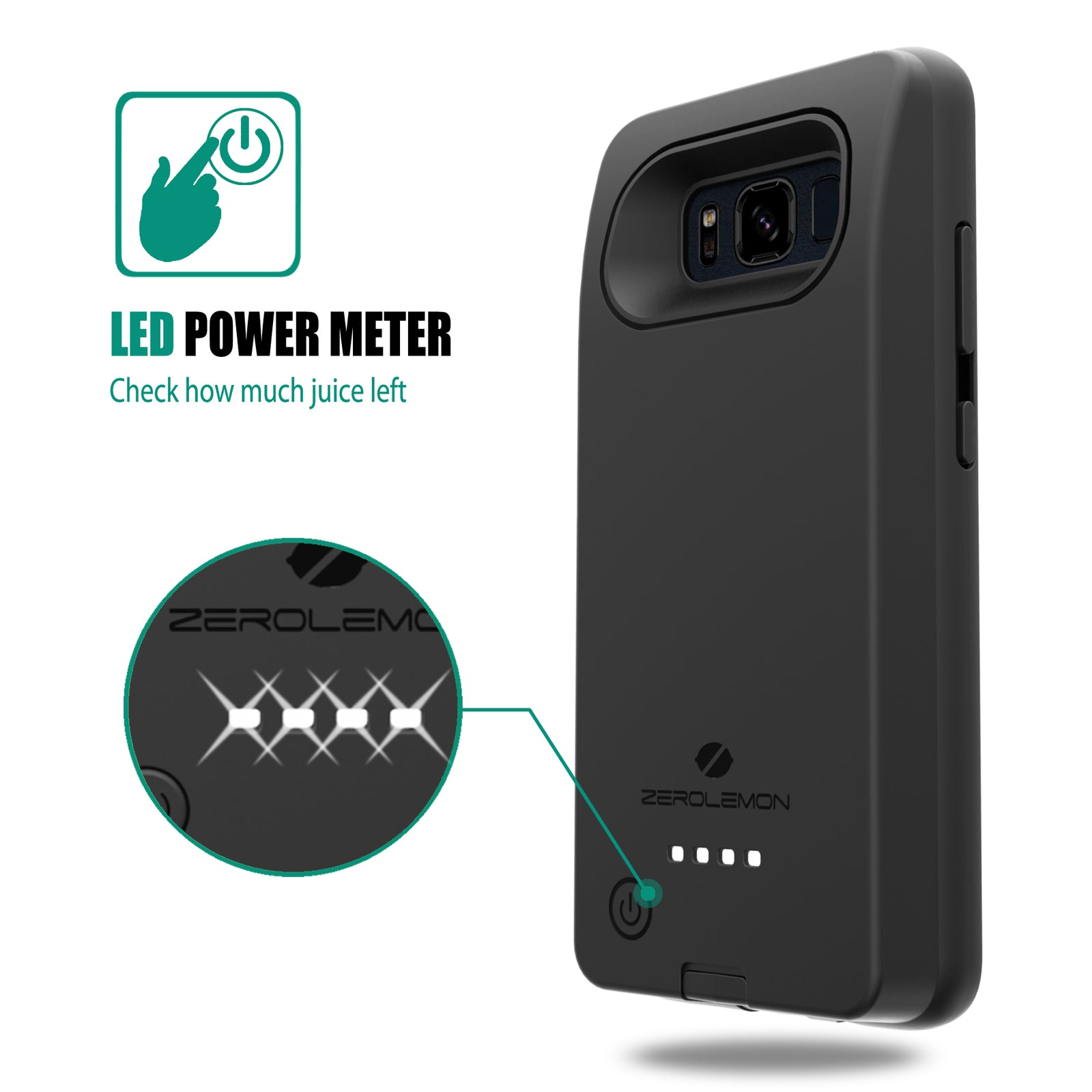 Galaxy S8 Active 8000mAh Battery Case