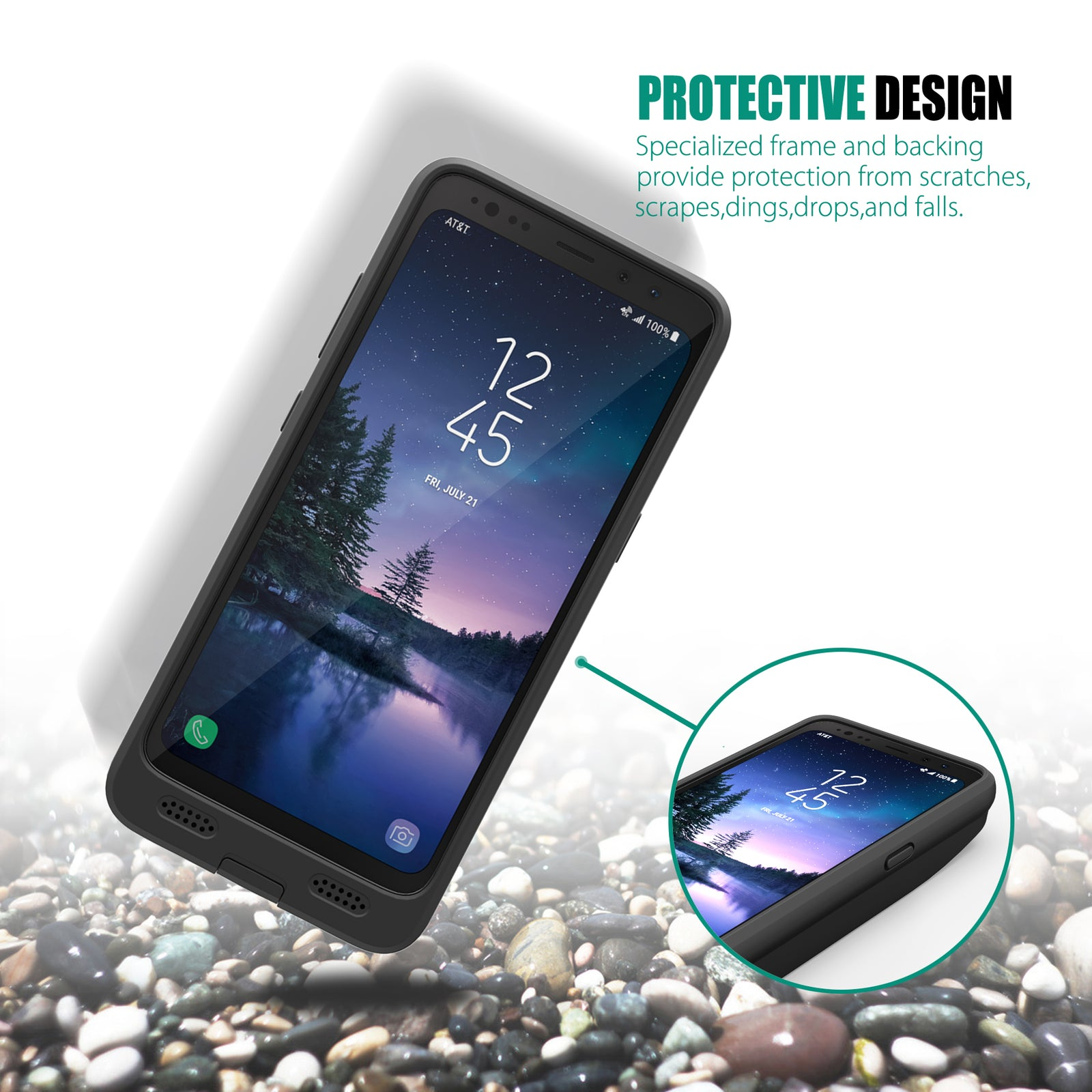 Samsung Galaxy S8 Active Battery Case 8000mAh