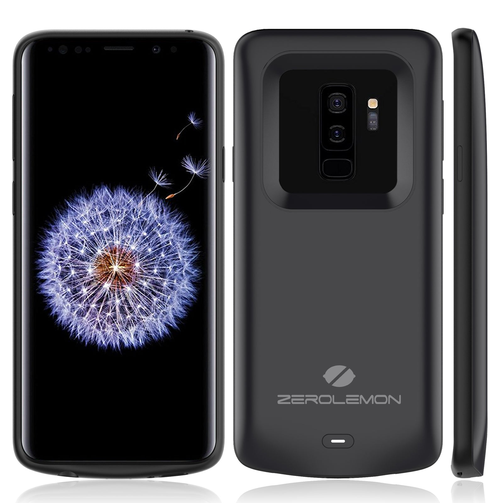 detailed look 756db d7a10 Samsung Galaxy S9 Plus Battery Case 5200mAh– ZEROLEMON