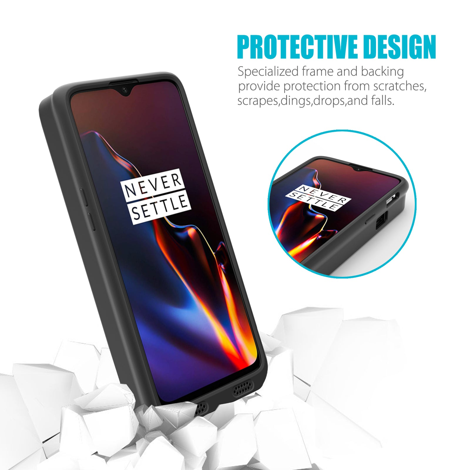 OnePlus 6T Battery Case 7500mAh